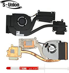 S-Union New Replacement CPU Fan for Dell Latitude E6540 Series Laptop CPU Cooling Fan & HeatSink 072XRJ