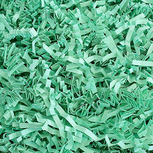 - Crinkle Cut Paper Shred Filler (1 LB) for Gift Wrapping & Basket Filling - Mint | MagicWater Supply