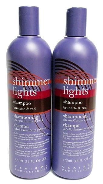 Clairol Shimmer Lights   Brunette U0026 Red (Pack Of 2) 16 Oz