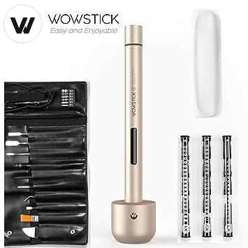 BECROWMEU Destornillador potencia eléctrico inalámbrico wowstick 1+ ...