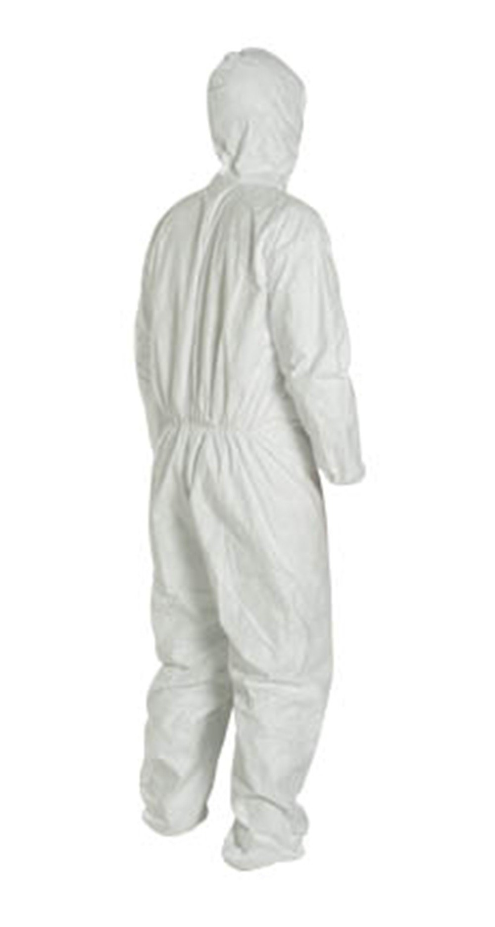 2XL Tyvek Coverall W/ Hood, Zipper, Elastic Wrist & Ankle (2XL-10 Suits) TY127S WH - 2XL - 10 by Tyvek (Image #3)