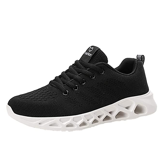 ddba8e913af78 Amazon.com: Men's Fashion Sneakers, Girls Mesh Breathable AIR ...