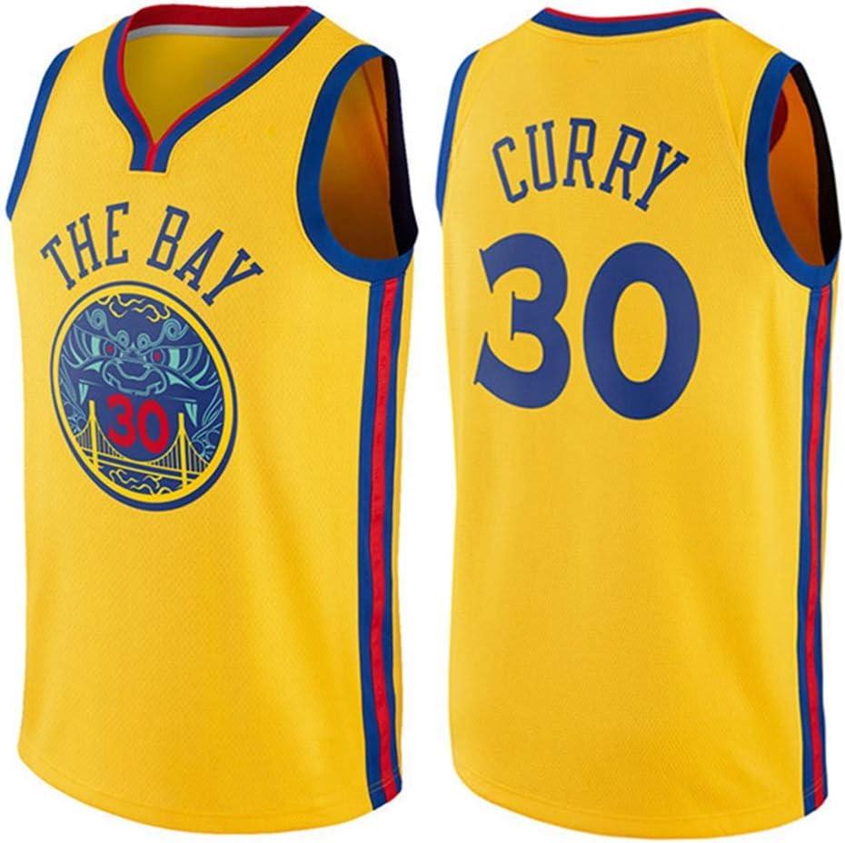 New Season Basketball Jersey Golden State Warriors Stephen Curry #30 Swingman Uniform Unisex und bequem und schnell trocknend.