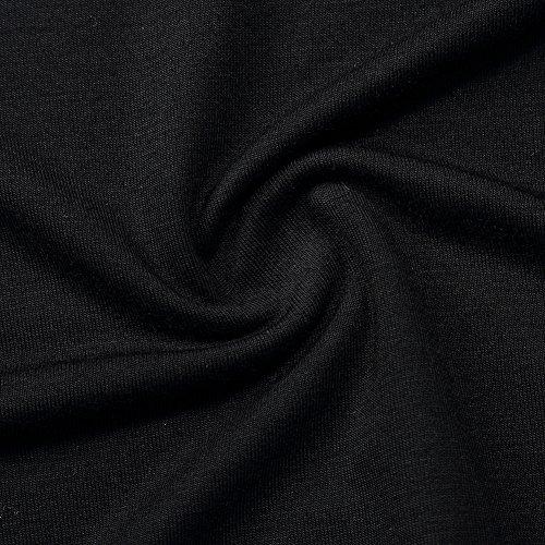 Les Femmes Coolmee Sans Manches En Dentelle Garniture Profonde V-cou Chemise De Nuit Empire Babydoll Robe Vêtements De Nuit De Nuit De Lingerie S Noir