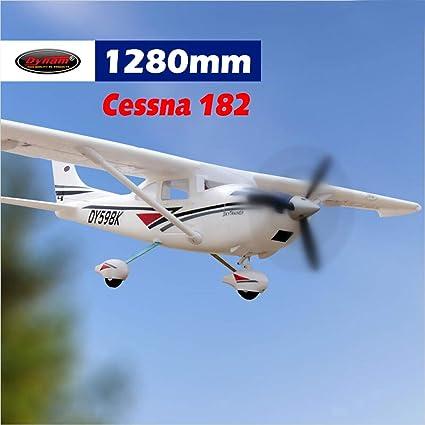DYNAM RC Airplane C-182 Sky Trainer 1280mm Wingspan - PNP