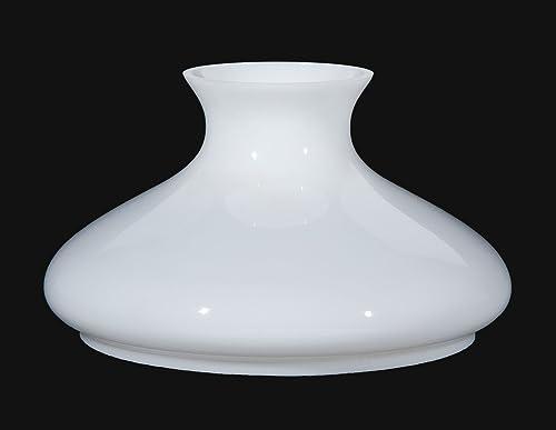 B P Lamp 10 Shade, Tam, Opal, Plain Top
