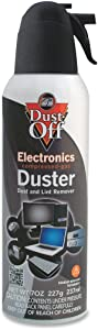 Falcon DPSM Gas Duster Compressed 7oz. Black/White