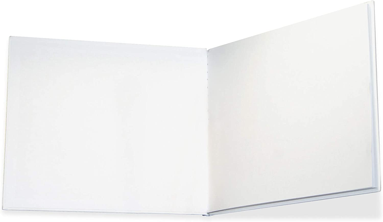 "Hardcover Blank Book 6"" x 8"" Landscape"