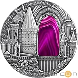 Crystal Art IV - Mysteries of Hogwarts $2 2oz Crystal & Silver Coin - Niue 2015