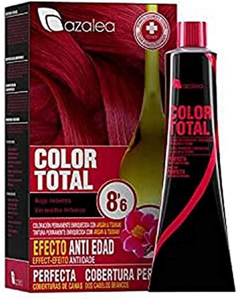 Azalea Color Total Tinte Tono 8.6 Rojo Intenso - 100 gr ...