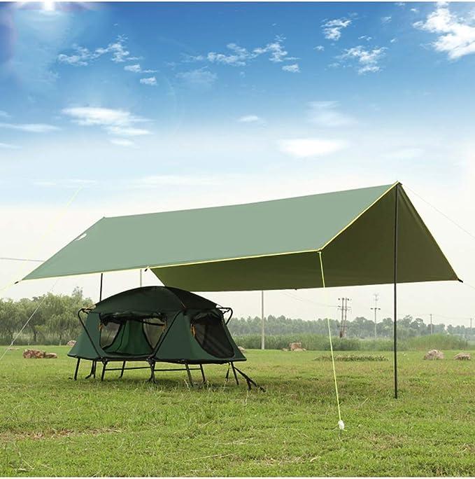 YUDEYU Pérgola Pabellón Cámping Pescar Impermeable Recubierto De Plata Protector Solar Toldo Tienda Cielo Al Aire Libre Espesar (Color : Green, Size : 4x3m): Amazon.es: Hogar
