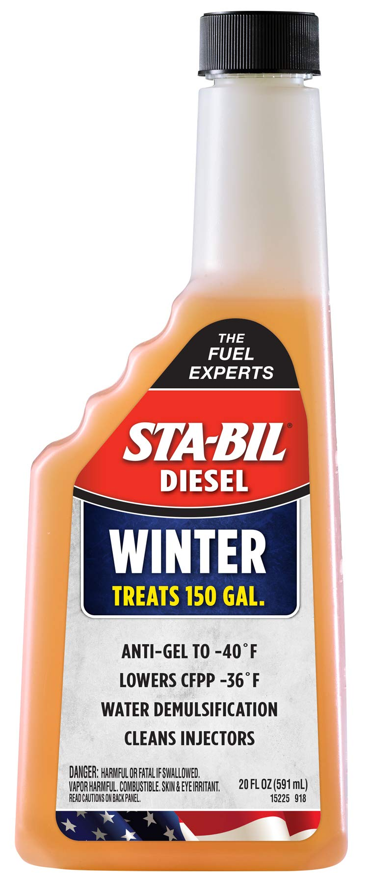 STA-BIL (15225) Diesel Winter Anti-Gel, 20oz by STA-BIL