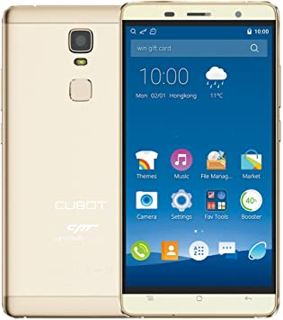 CUBOT Cheetah - Smartphone 4G LTE Android 6.0(MTK6753A, Octa Core ...