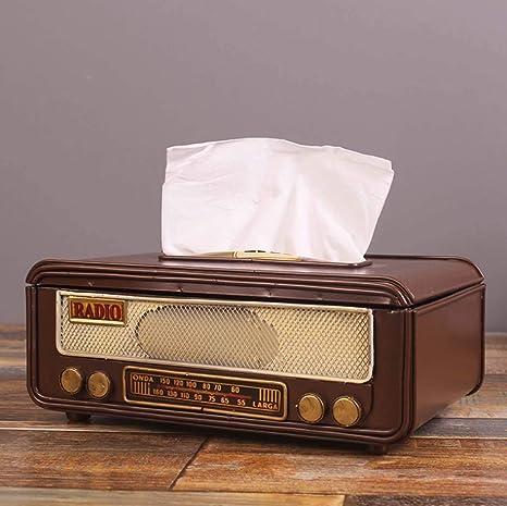 WSHZ Cartón, Caja de la Radio Retro Americana del Tejido del ...