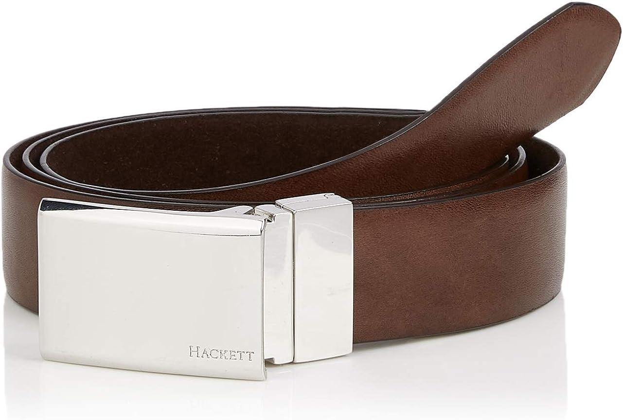 Hackett Gift 1 Suede Cinturón, (Black 999), No aplica (Talla del ...