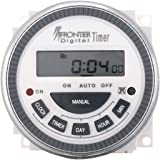 TSKTECH Digital Timer Programmable Controller TM619 Type: Frontier/Euro- Replaceable Battery - Connecting Thimbles