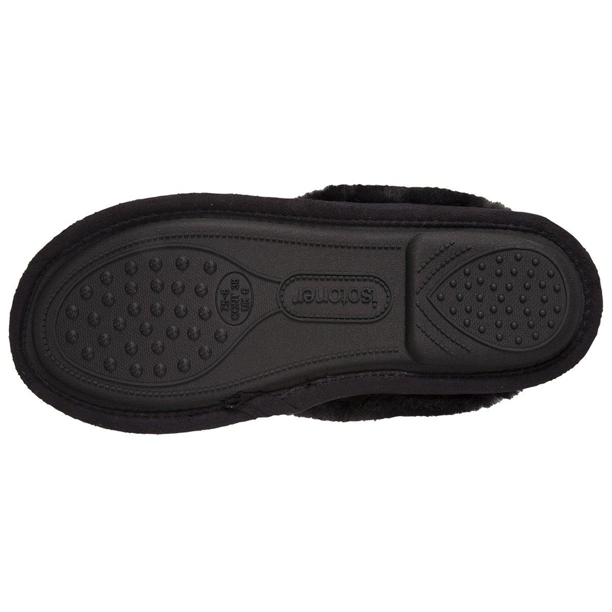 7507ad2e294fd Isotoner Chaussons Mules Femme étoiles  Amazon.fr  Chaussures et Sacs