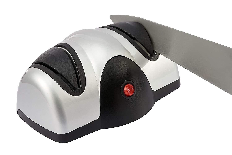 Wdj Messerschä rfer | Elektrischer Messerschleifer | Zweistufiges Schä rfer Mit 2 Schleifscheiben Zum Schleifen Und Schä rfen Von Kü chenmessern