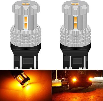 KaTur 7443 7440 7441 W21W T20 Bombillas LED de Alta Potencia 12pcs ...