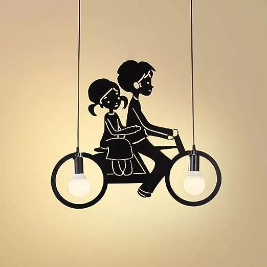 GRH Lámpara de bicicleta moderna para bicicletas de hierro Lámpara ...