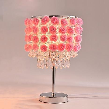 Lampada da tavolo di cristallo creativa, lampada da tavolo ...
