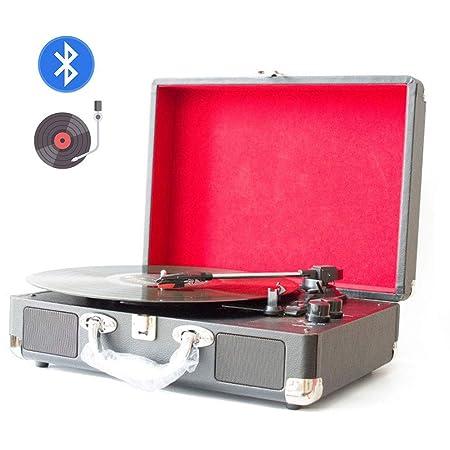 Lvreby Tocadiscos para Reproductor de Discos de Vinilo, con ...