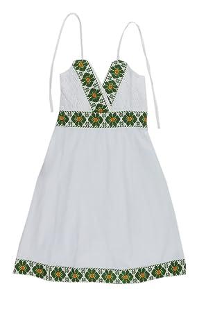 Vestido Mexicano Contemporáneo Nahua Veracruz Manta Ctt