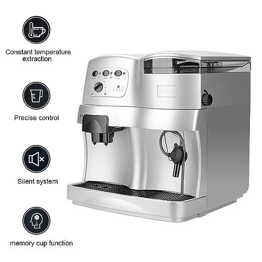 WLNKJ Cafetera Automático, Control Preciso Función De Memoria del ...