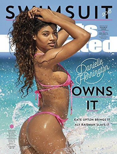 Sports Illustrated Magazine Swimsuit Issue with Danielle Herrington Cover 2018 + Magazine Cafe Bookmark