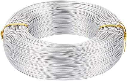 -10-15-20-25 m 1.0 mm colorful color metal craft line jewelry making DIY Aluminum wire 18 Gauge