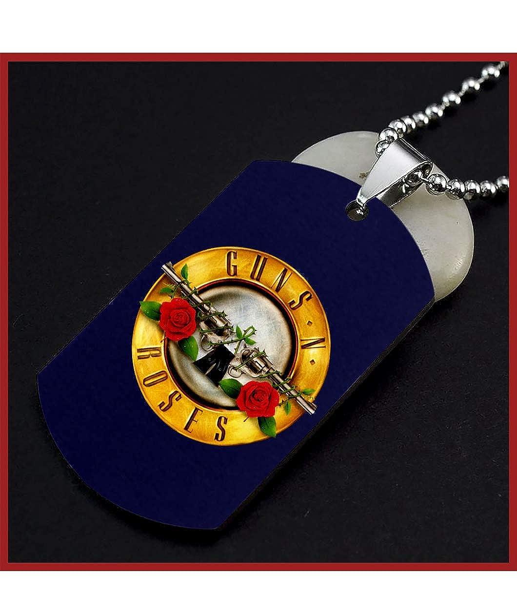Amazon.com: TAMPSHOP Divertido Guns N Roses Logo etiqueta ...