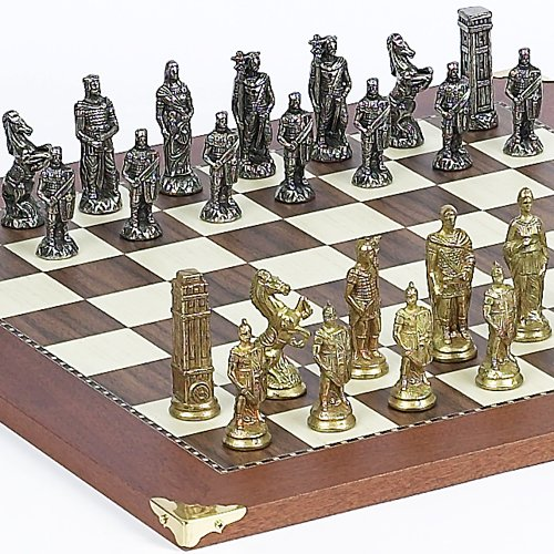 (Lorenzini Chessmen From Italy & Astor Place Board From Spain)