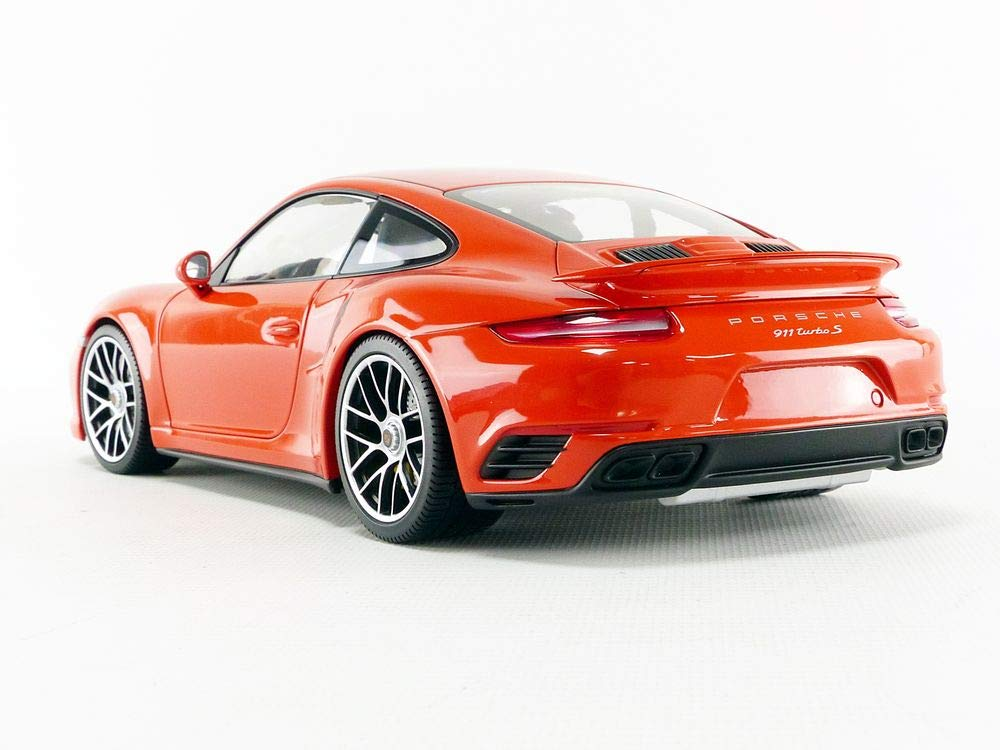 Amazon.com: Minichamps 110067120 1: 18 2016 Porsche 911 Turbo S Car, Orange: Toys & Games