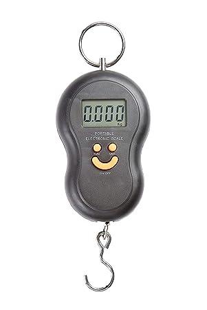 Balanza digital con gancho para maletas, pesca, caza. Display LCD Surf, incluyendo las baterÕas, pesa hasta 40 kg: Amazon.es: Electrónica