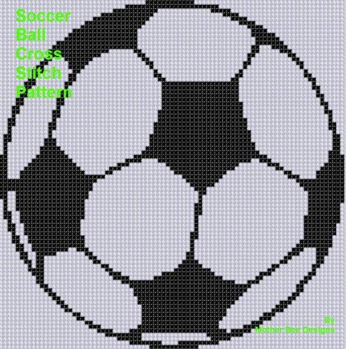Soccer Ball Cross Stitch - Cross Ball Stitch