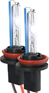XtremeVision HID Xenon Replacement Bulbs - H11 30000K - Deep Blue (1 Pair) - 2 Year Warranty