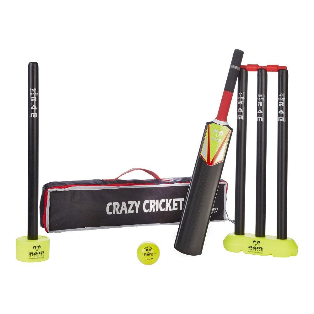 Ram Cricket mit Tragetasche, Kinder-set, Komplett, gute Qualität gute Qualität 3299-MIC
