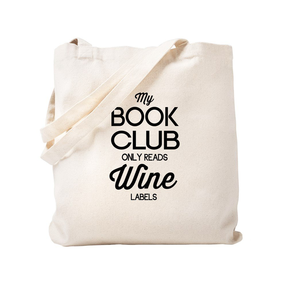 憧れ CafePress – M My S Book ClubのみReadsワインラベル – ナチュラルキャンバストートバッグ –、布ショッピングバッグ M ベージュ 14269171586893C B0773Q78TP S S, カミカワムラ:0037ef40 --- mail.mrplusfm.net