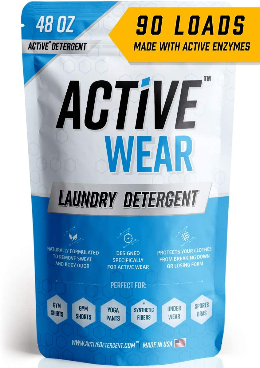 Active Wear Laundry Detergent - Formulated for Sweat and Workout Clothes