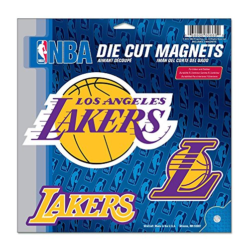 NBA Los Angeles Lakers Vinyl Magnet, 11 x 11