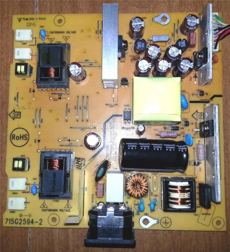 (Asus VK266 LCD Monitor Repair Kit, Capacitors Only, Not the Entire)