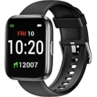 Letsfit Smart Watch for Women Men, Fitness Trackers with Heart Rate Monitor, Pedometer Step Counter Watch with Blood…