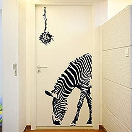 10095cm zebra 3d wall sticker pvc wall decals home hotel wedding 10095cm zebra 3d wall sticker pvc wall decals home hotel wedding decoration living room junglespirit Gallery