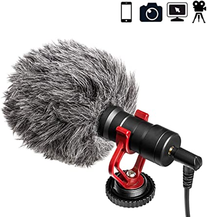 MSQL Micrófono de grabación de Video para cámara DSLR Smartphone ...