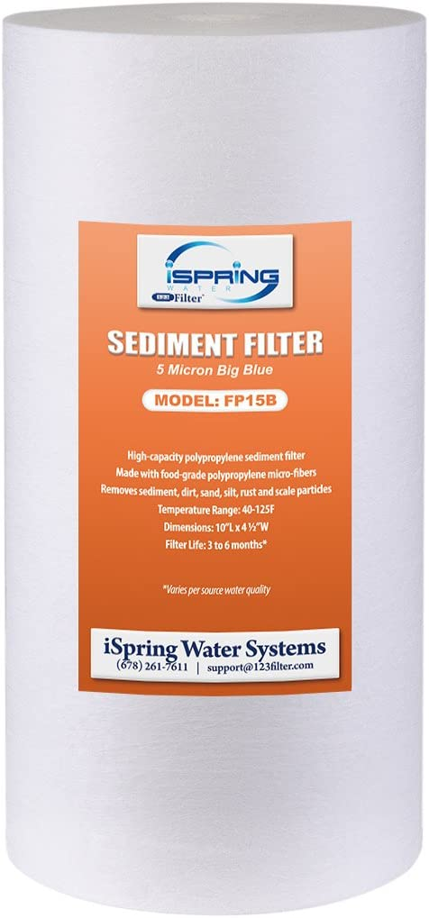 iSpring FP15B 10 x 4.5 PP Sediment Filter