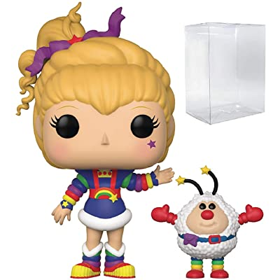 Funko Pop! Animation: Rainbow Brite and Twink Vinyl Figure (Bundled with Pop Box Protector Case): Toys & Games