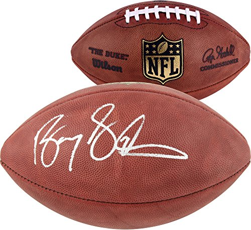 Barry Sanders Detroit Lions Autographed Duke Football - Fanatics Authentic Certified - Autographed Footballs