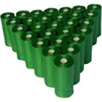 Bolsas sanitarias biodegradables para recoger popo - heces de perro Petpopis, 28 rollos con 15 bolsas cada uno, 420…