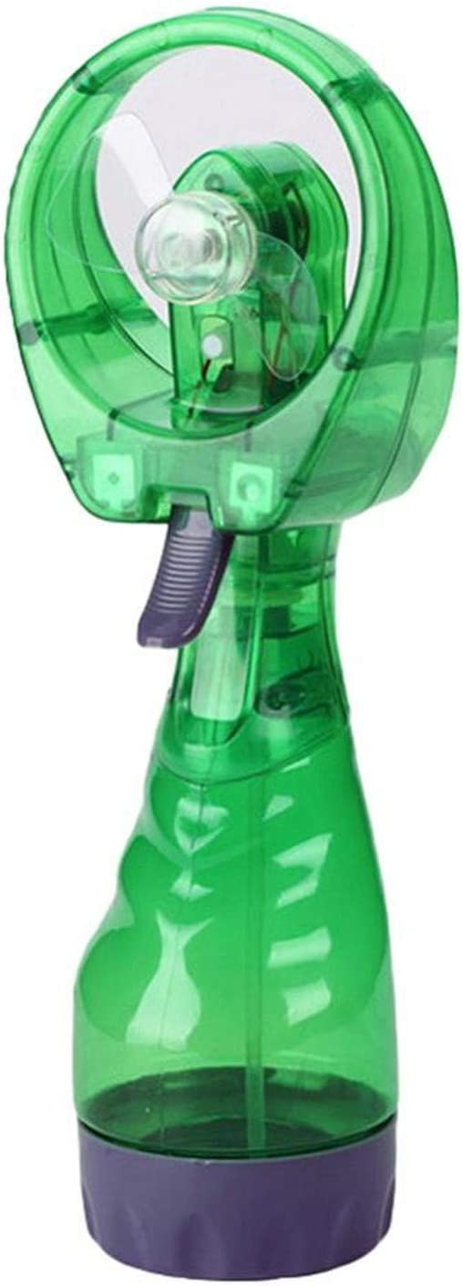 Mini Portable Water Spray Cooler Handheld Outdoor Bottle Travel Battery Misting Cooling Fans with Six Color Chosing,2