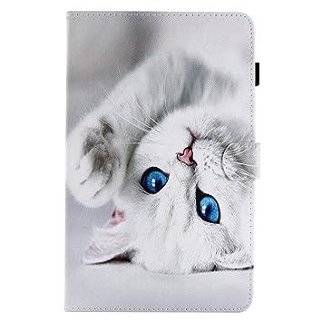 various colors size 7 best price Coopay Animaux Pochette Housse en Cuir PU pour Tablette Samsung Galaxy Tab  E 9.6